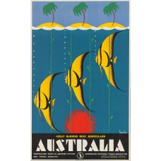 Great Barrier Reef poster - 1930