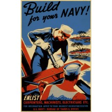 Build for your Navy poster - 1942