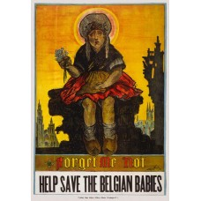 Help save the Belgian babies - poster - 1917