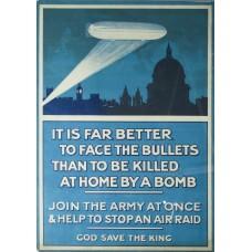Britse Zeppelin poster - Eerste Wereldoorlog
