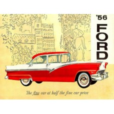 Ford 1956 - brochure cover