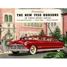 Hudson 1950 - cover brochure