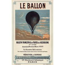 Le Ballon advertentie - 1883