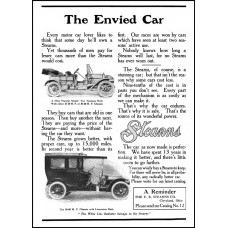 Stearns - auto advertentie - 1909